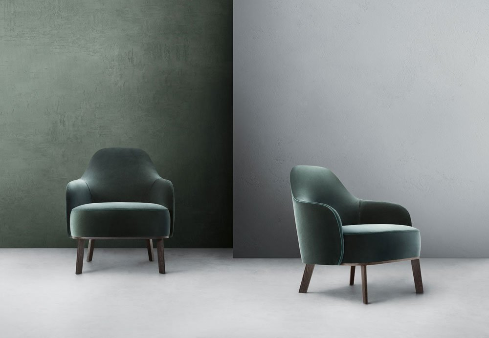 Fantino armchair, design Gordon Guillaumier 2018, Lema.