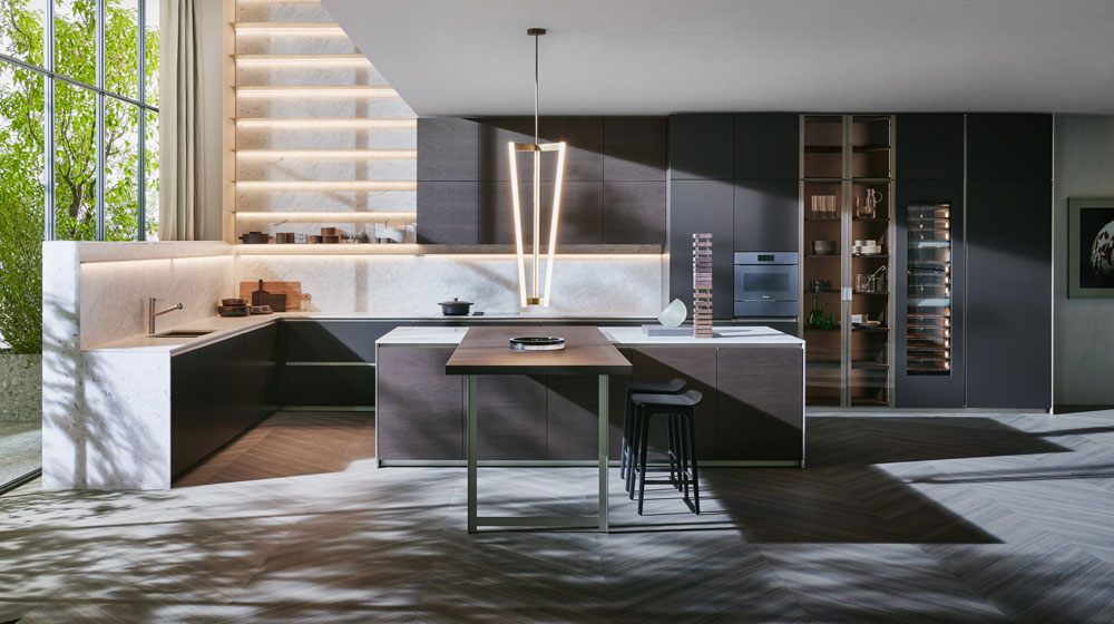 Prime kitchen, design Dada Design 2018, Dada.