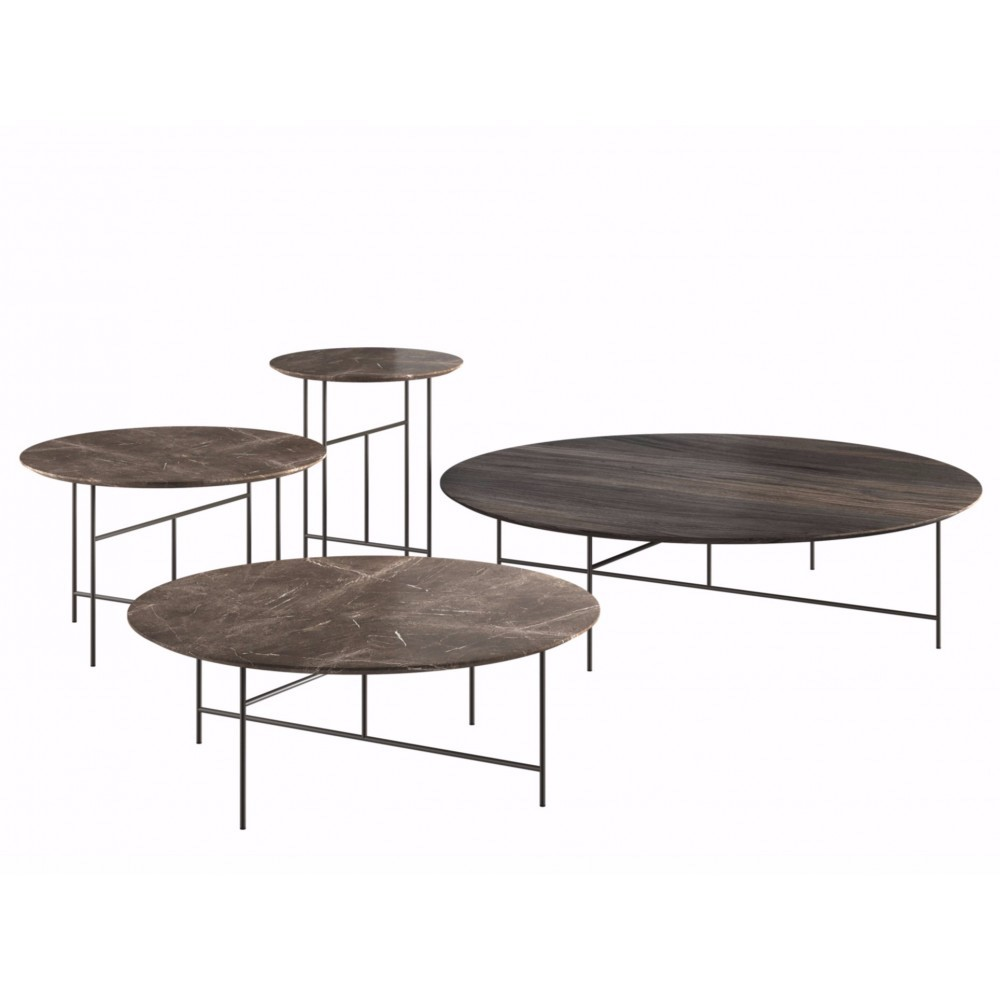 Sen coffee tables, design Kensaku Oshiro, De Padova 2016
