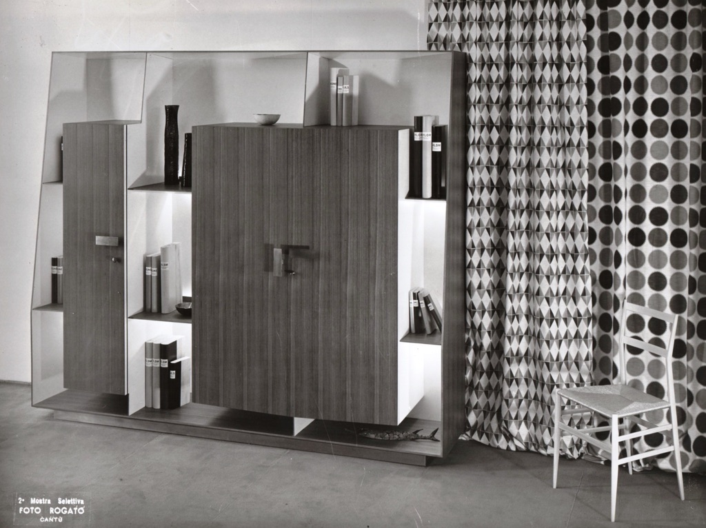 Gio Ponti's fitted wall unit