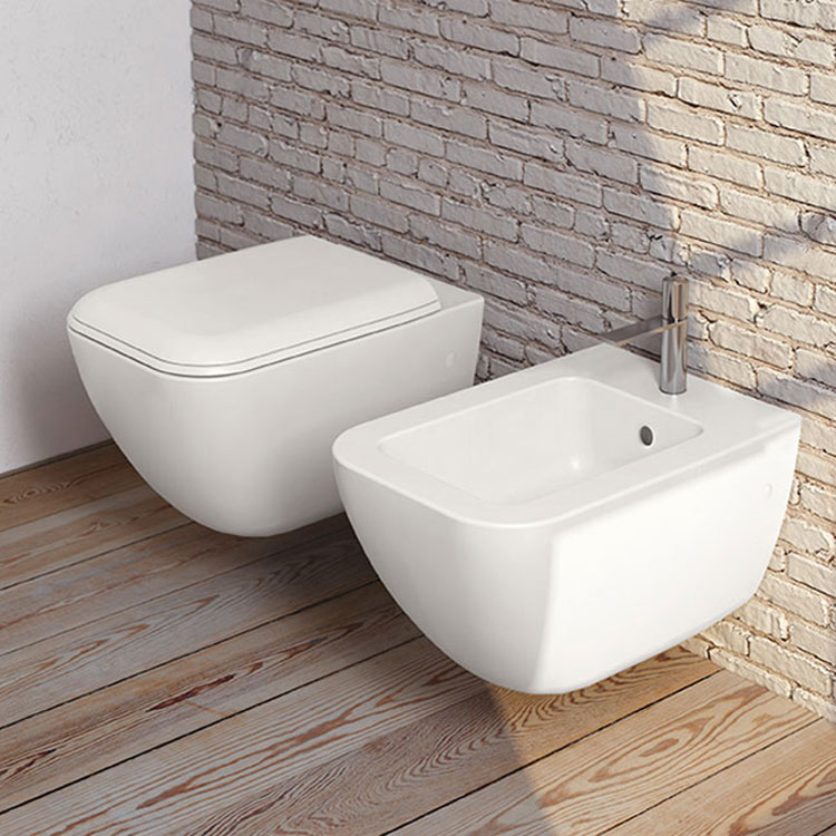 Shui Comfort WC and Bidet, Ceramica Cielo