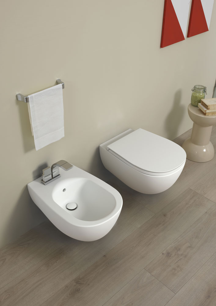 Io WC and Bidet, Ceramica Flaminia