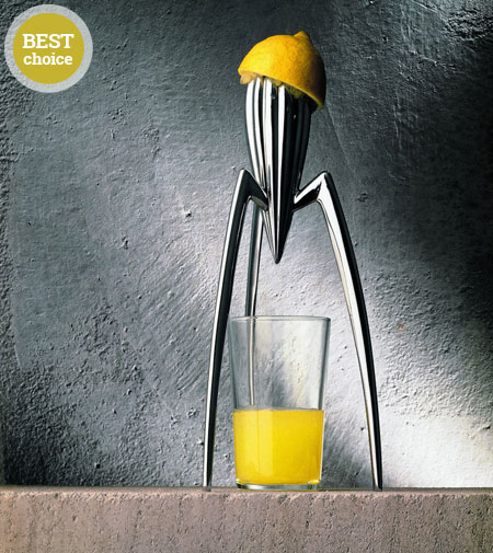 juicy salif lemon squeezer by alessi