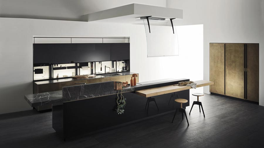 In the kitchen functionality becomes pure elegance
