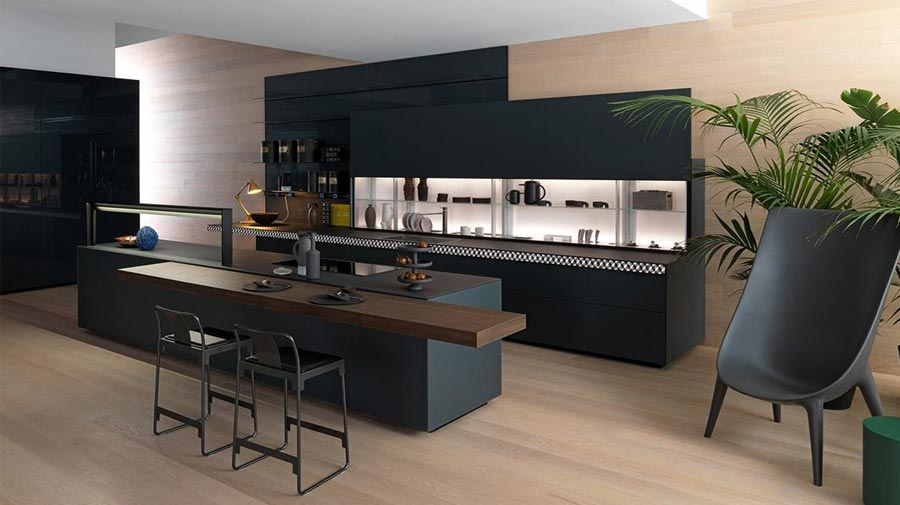 An urban style kitchen