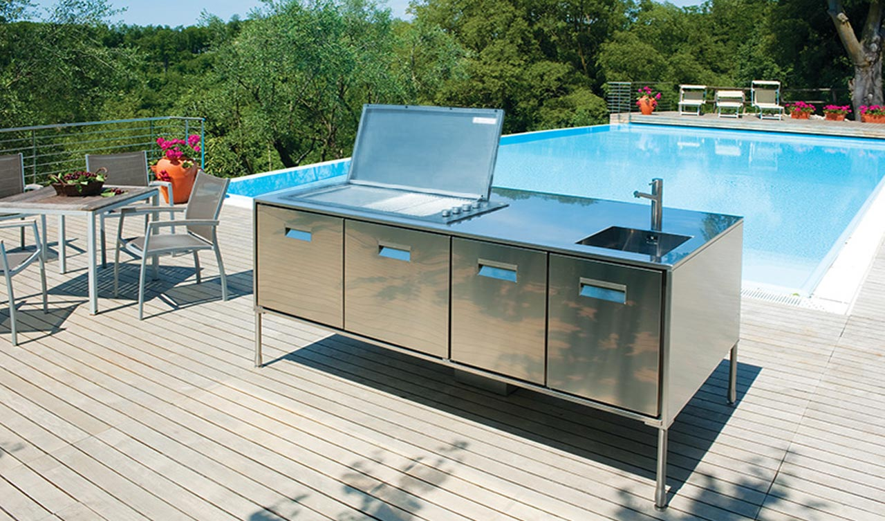 Arclinea, cucina Artusi Outdoor