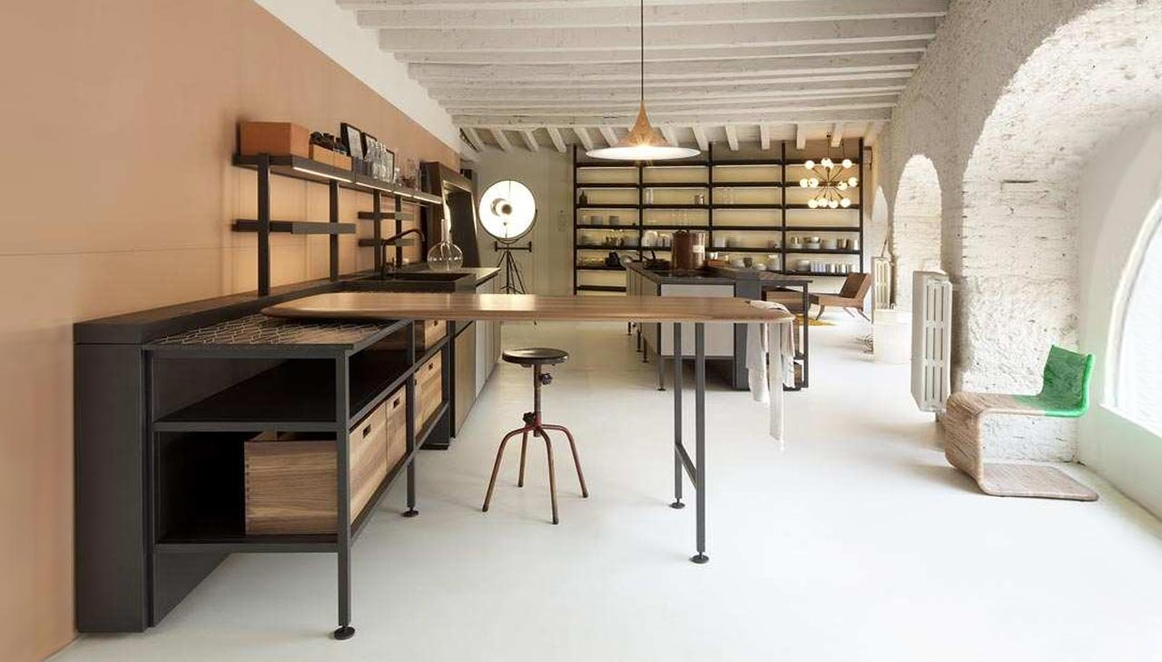 Salinas Kitchen by Boffi, design Patricia Urquiola