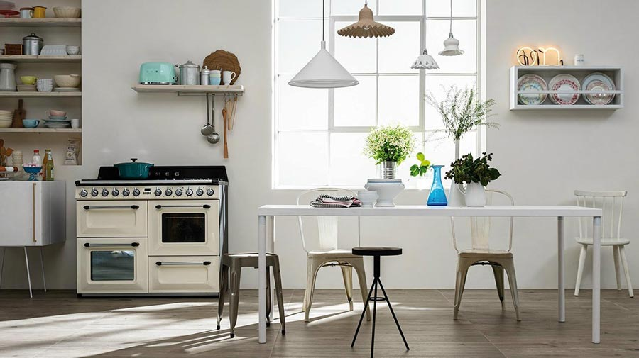 Simply retro: kitchens with an urban feel