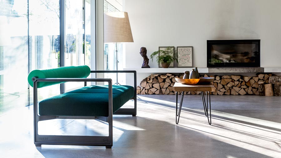 Bauhaus inspirations for the contemporary living room