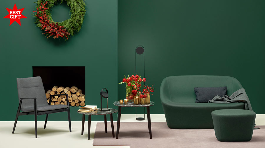 Sage green is the colour for Christmas