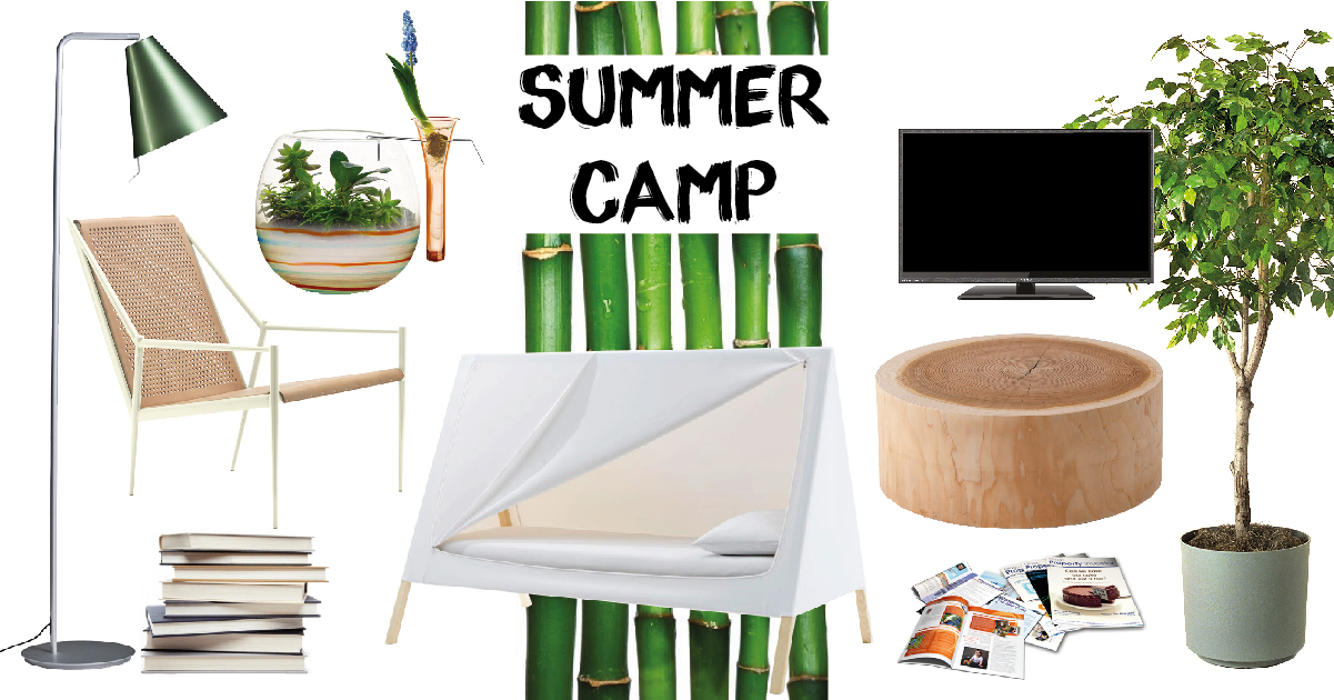 Moodboard Summer Camp