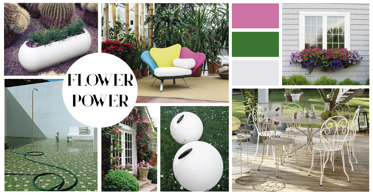 Moodboard Flower Power