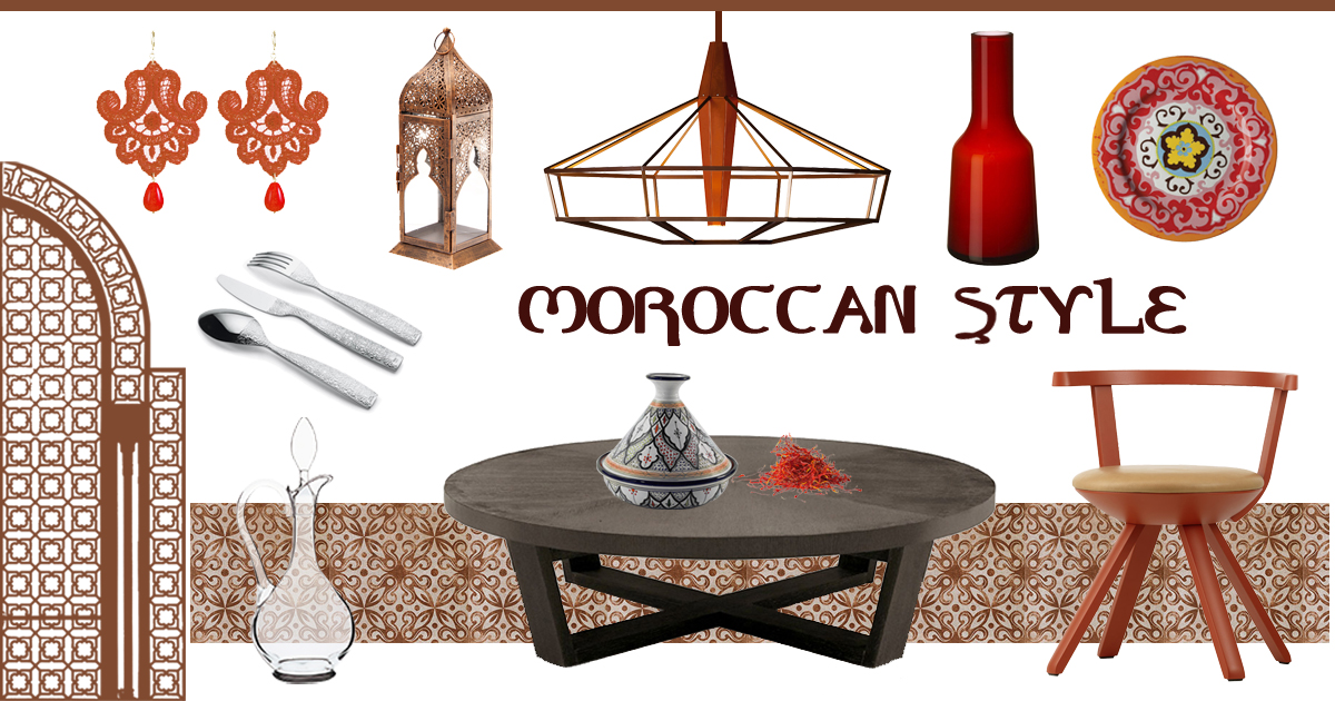 moodboard moroccan style table settings