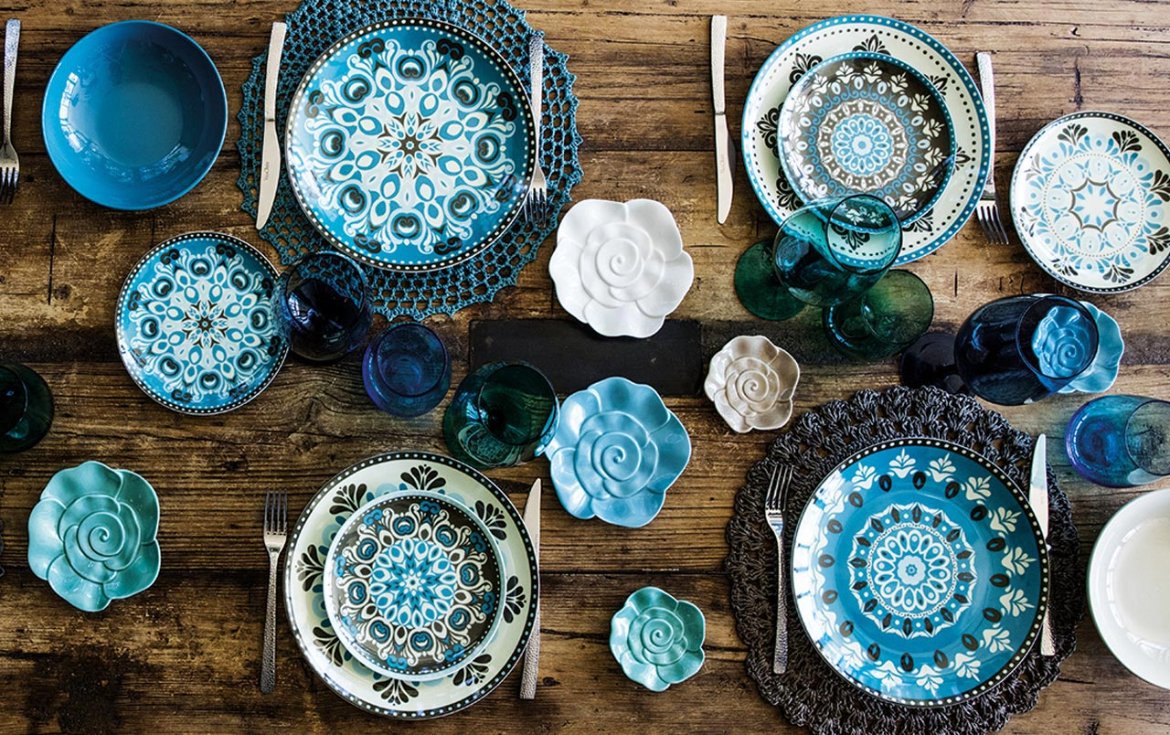 Table setting ideas: Moroccan style