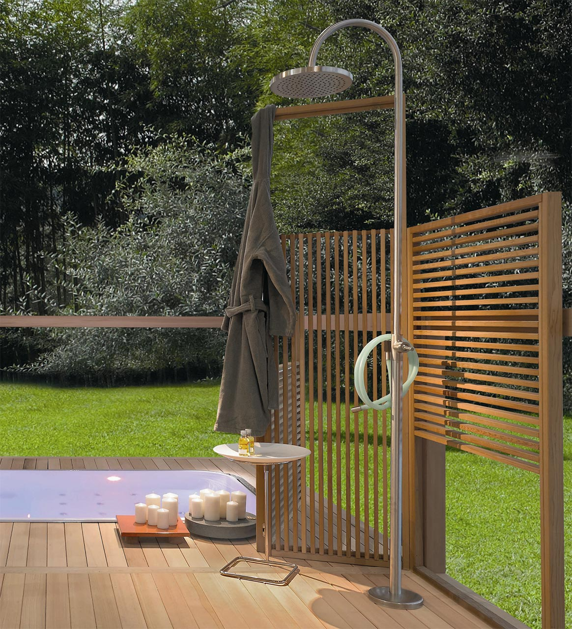 Kos, Outdoor Shower