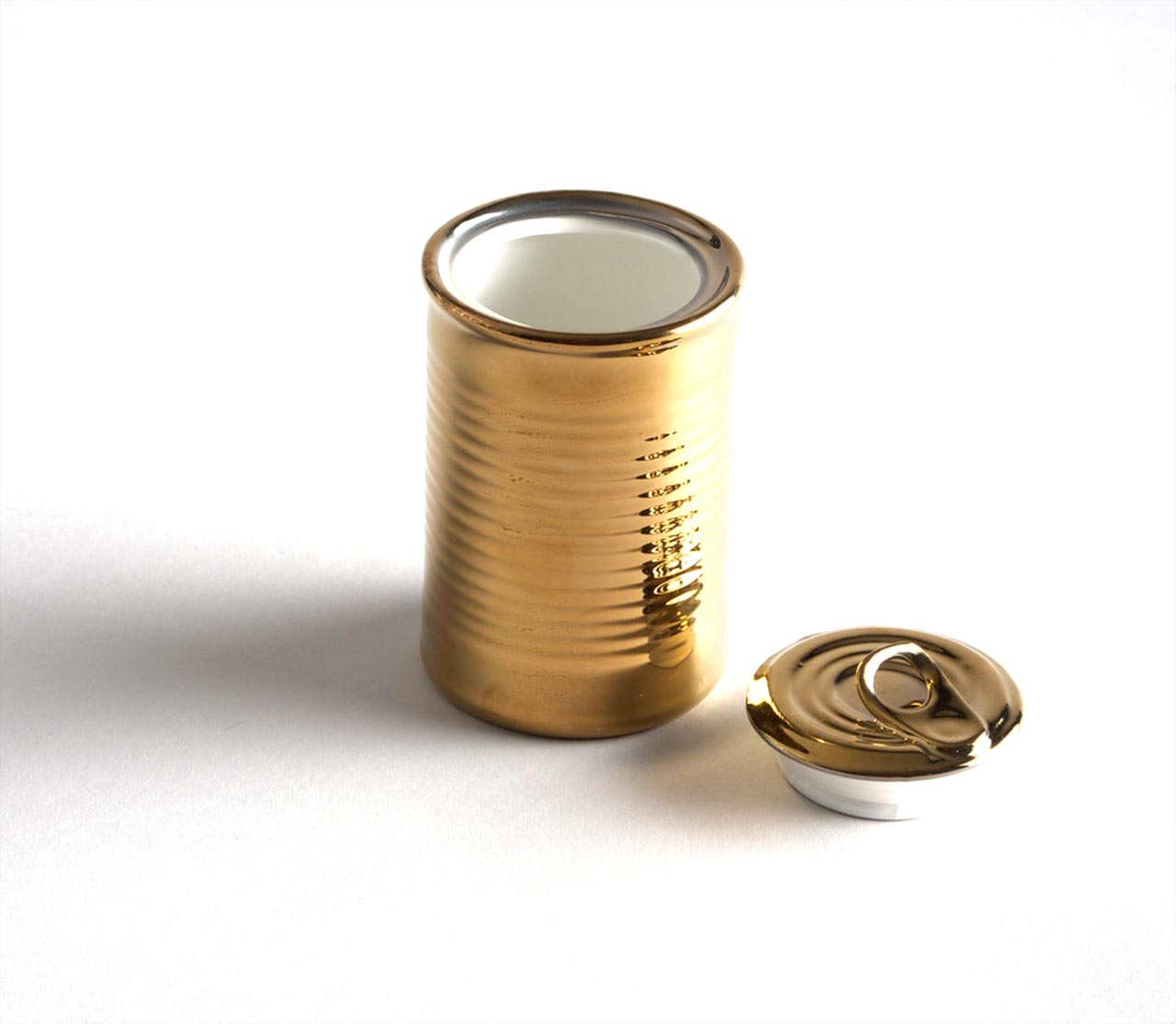 Seletti, barattolo The Can Gold Edition