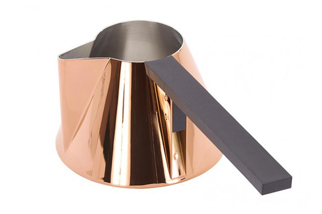 Tom Dixon, bricco latte Pan