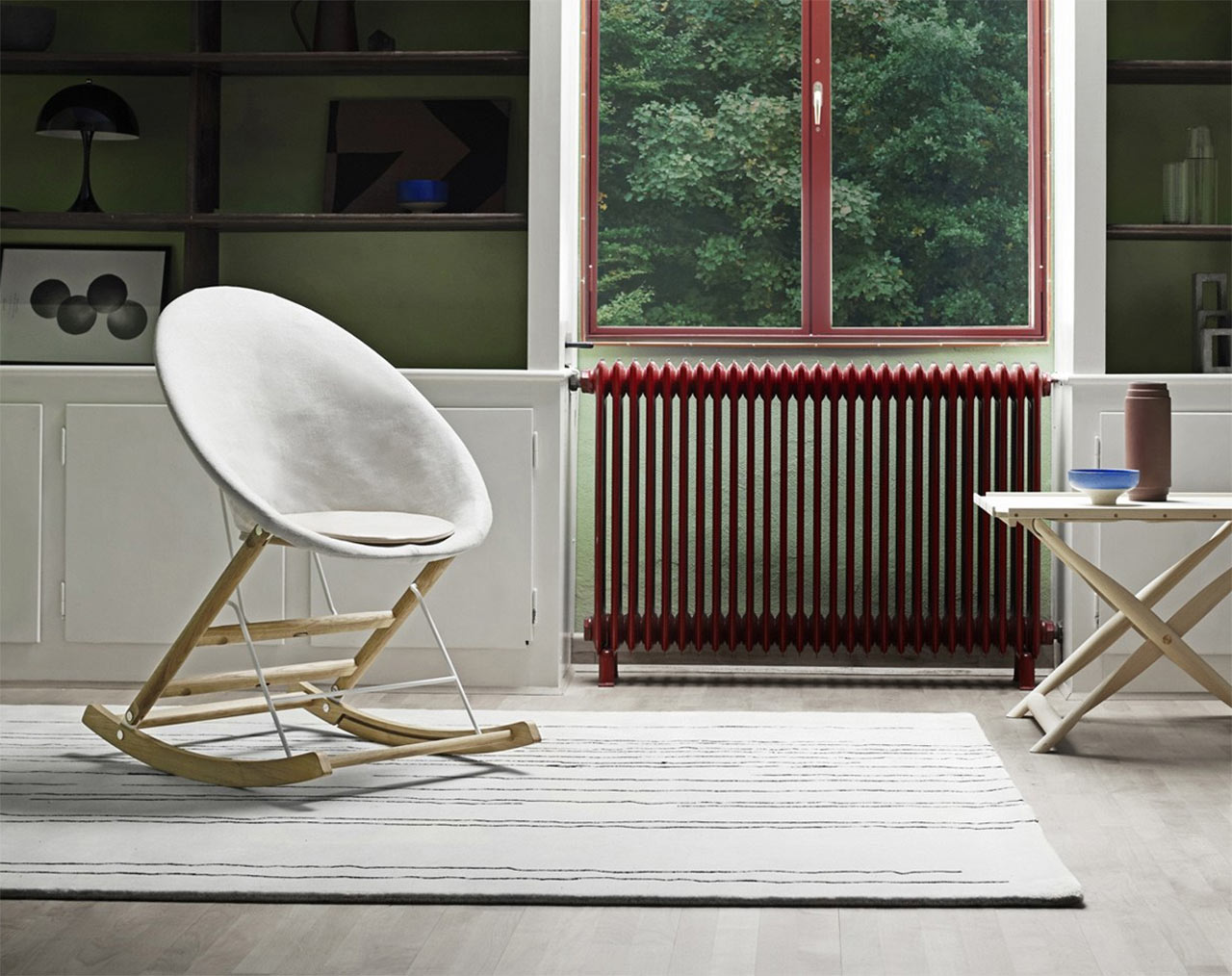 Carl Hansen & Søn, dondolo Rocking Nest Chair