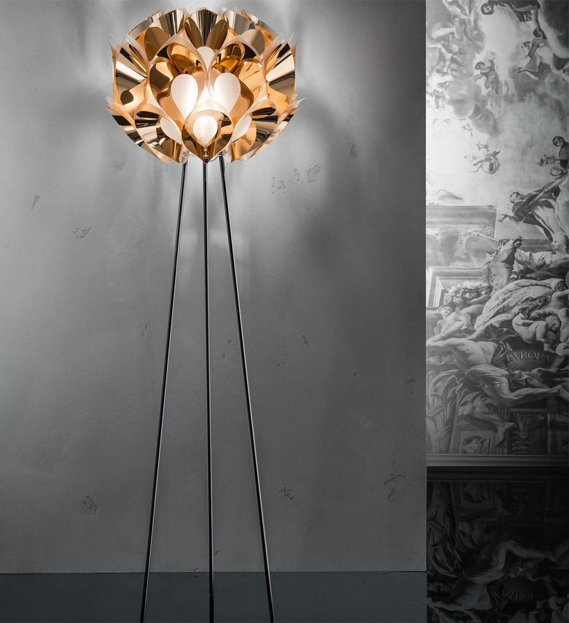 Slamp, Flora Copper