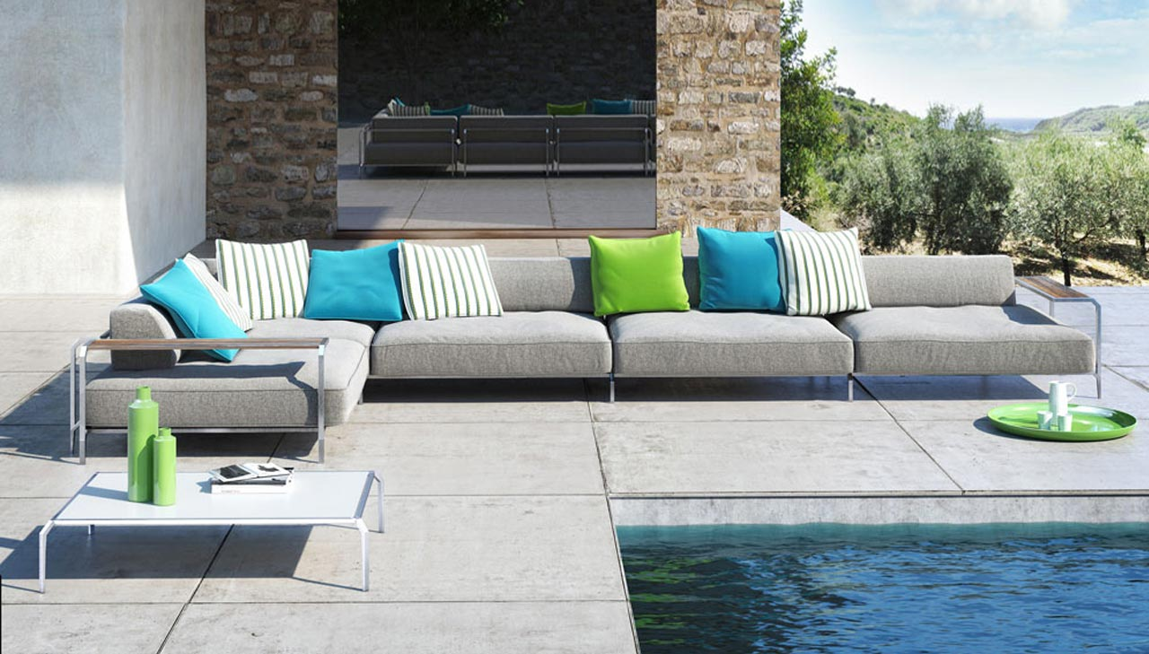 Coro outdoor sofa Sabal