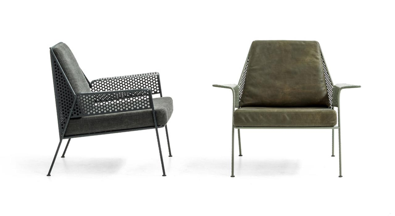 Diesel Living with Moroso, poltroncina Work Is Over