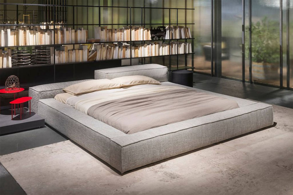 Upholstered beds top styles images for Living divani prezzi