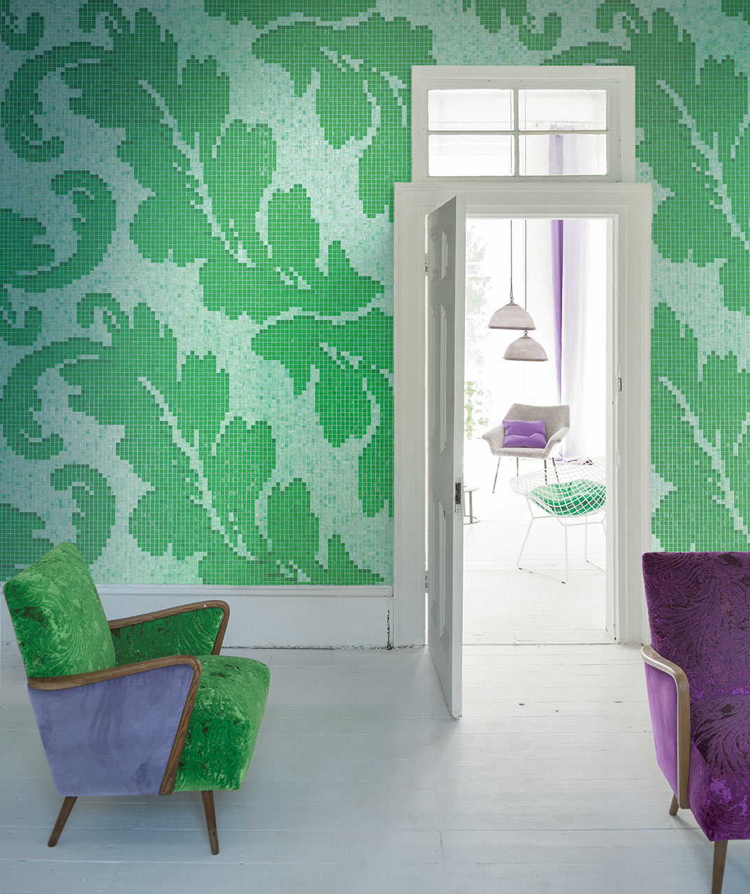 Ardassa Emerald mosaic by Bisazza