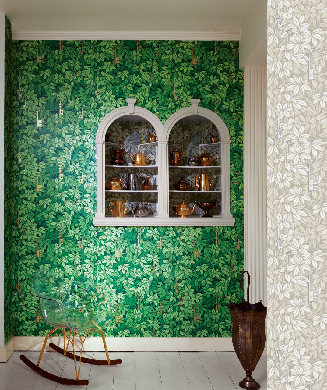 Cole & Son, wallpaper by Fornasetti