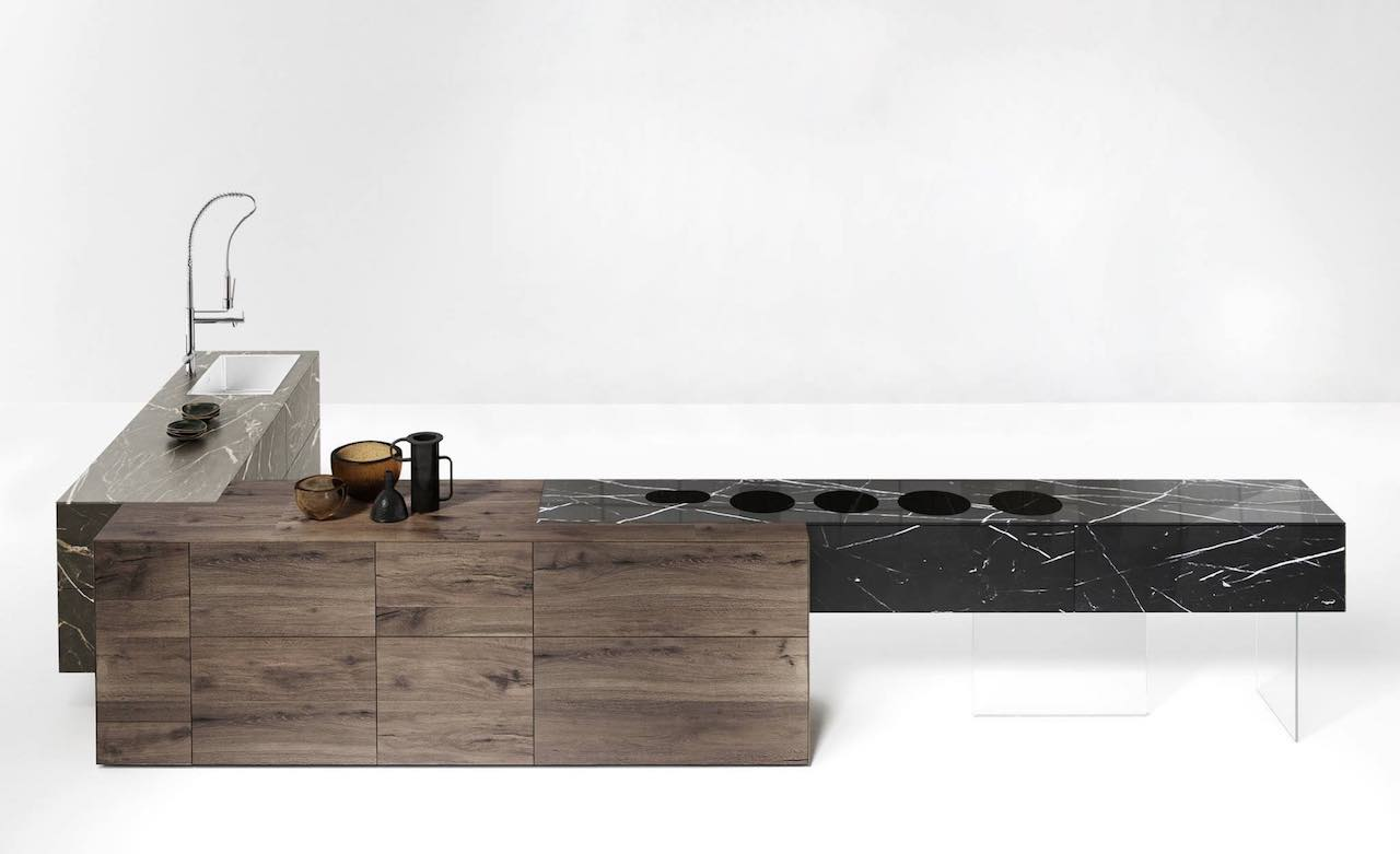 Fusion Kitchen, design Daniele Lago, Lago 2018