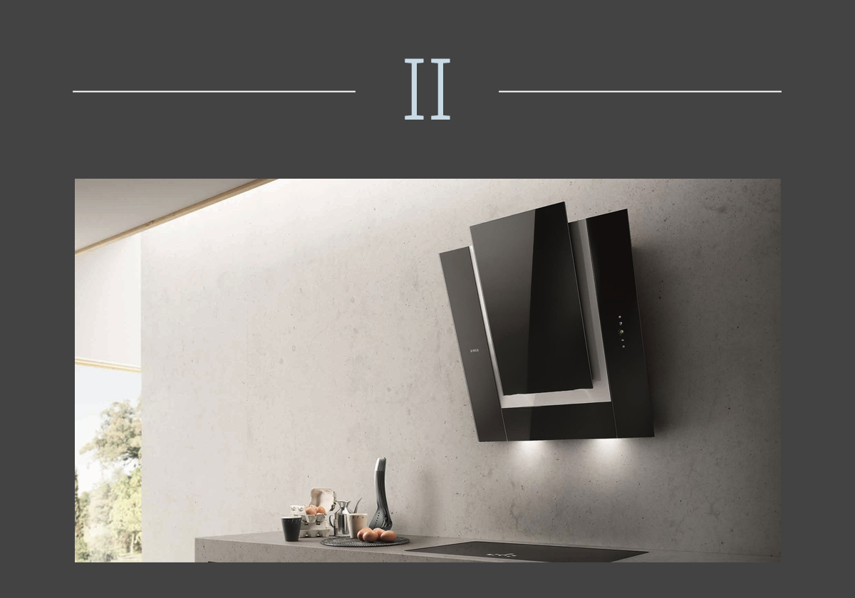 Ico kitchen hood, Elica