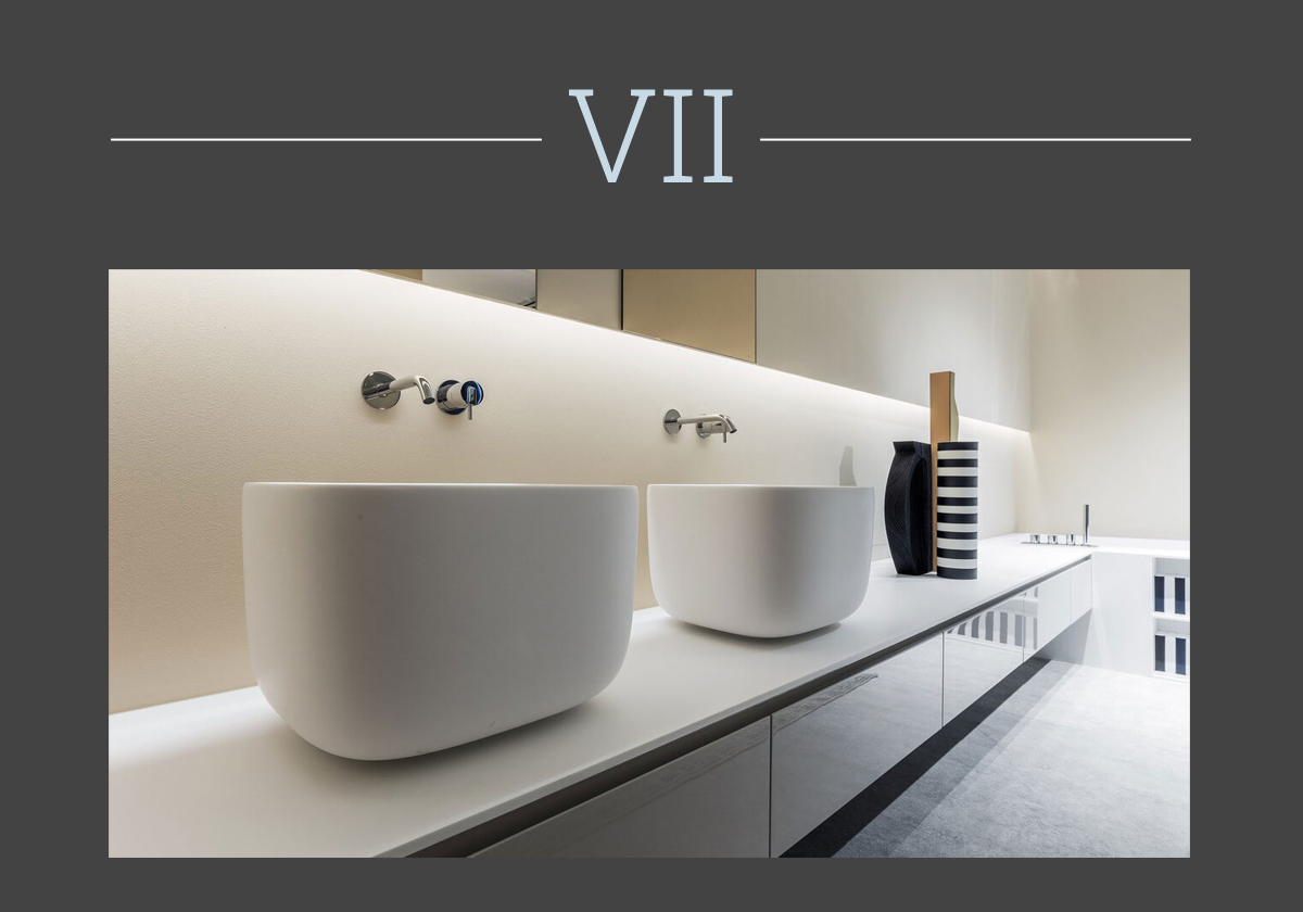 Poggio washbasin by Antonio Lupi