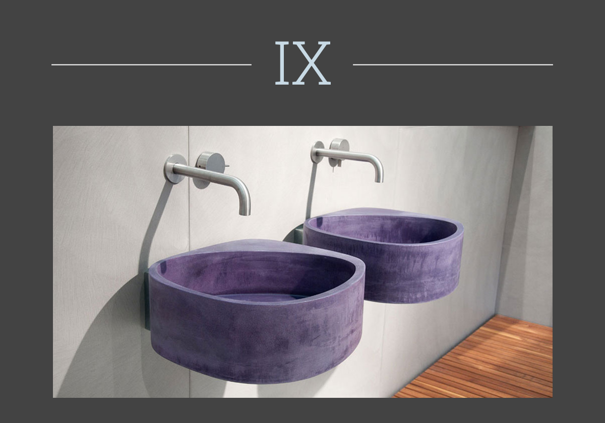 Elletre washbasin by Moab80