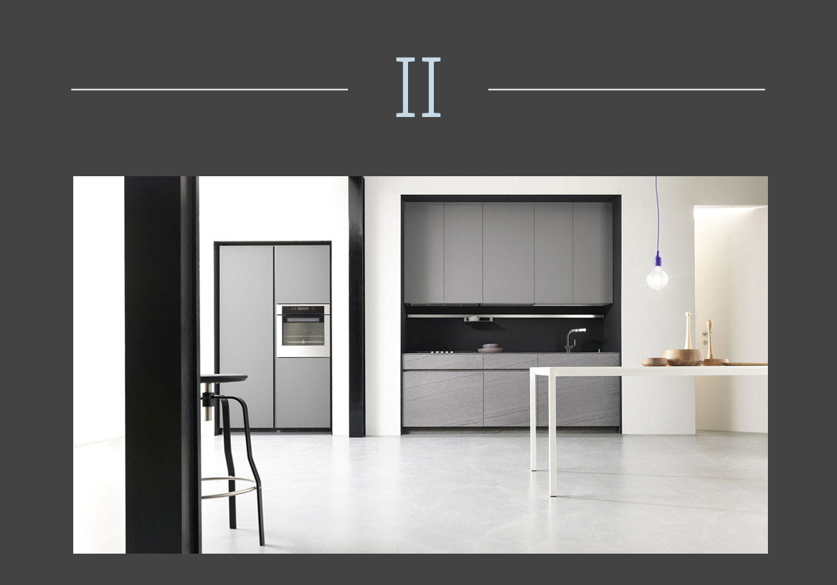 Monolite kitchen by Meson's cucine