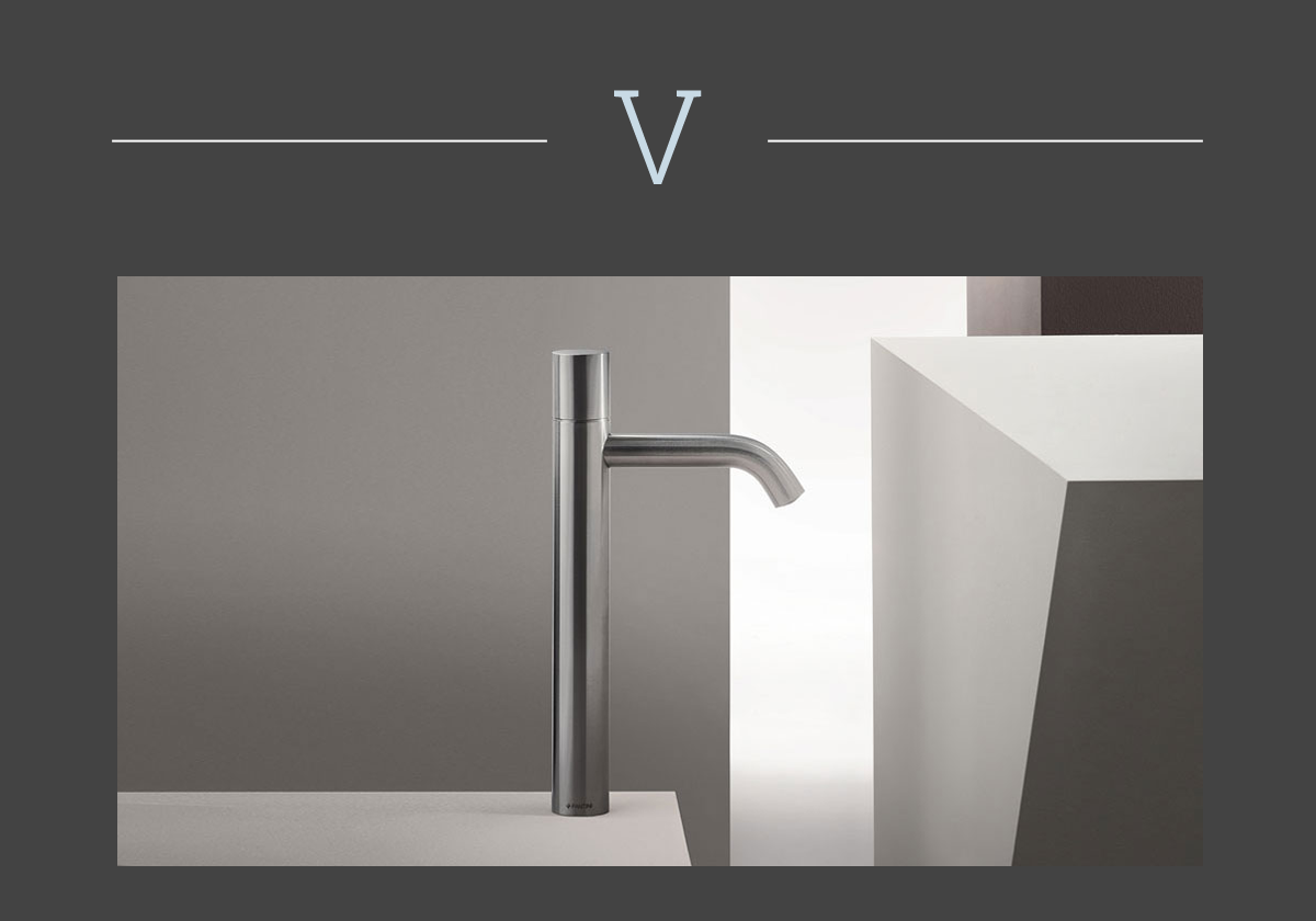 Nostromo mixer tap by Fantini
