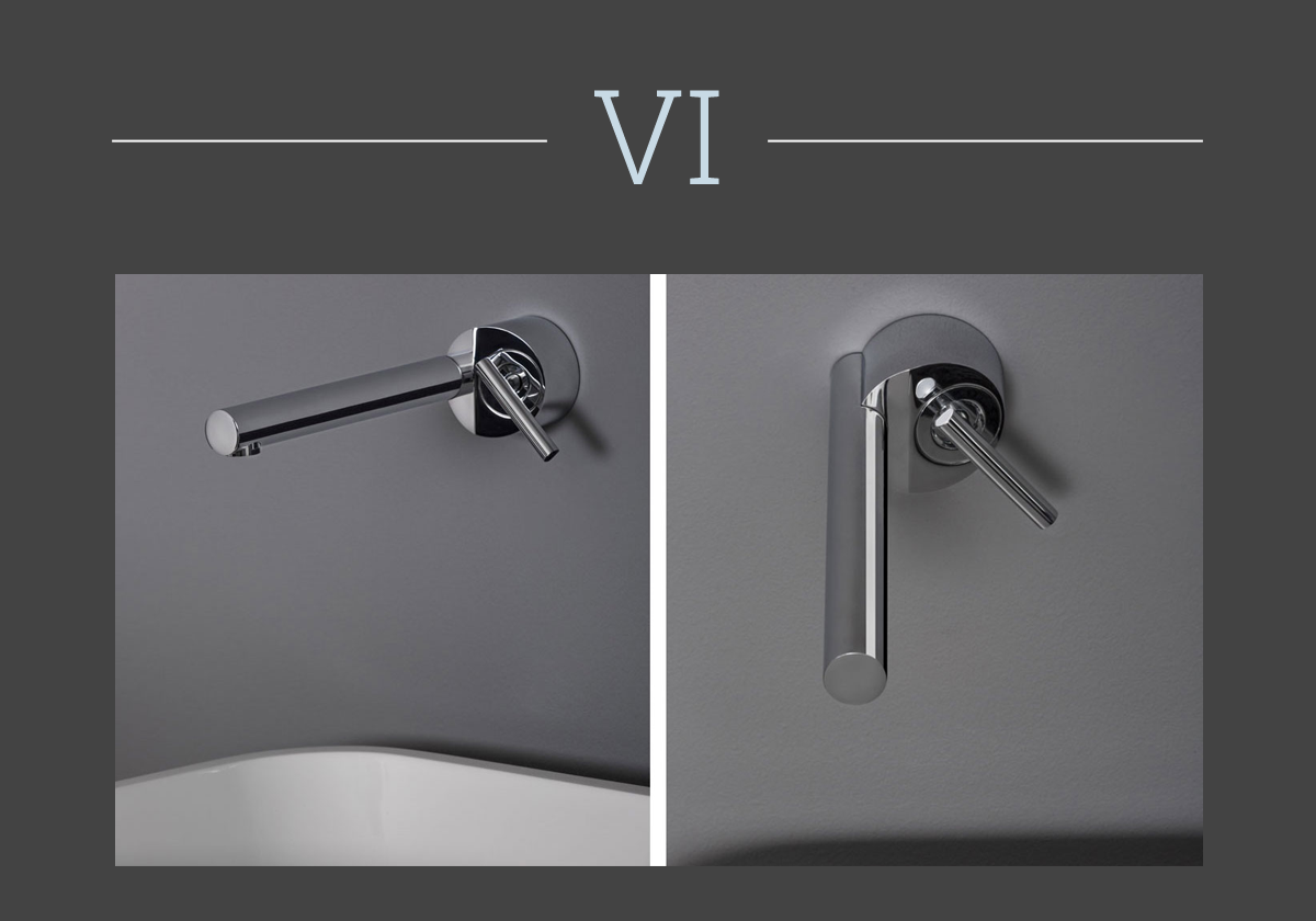 Closer mixer tap by Zucchetti