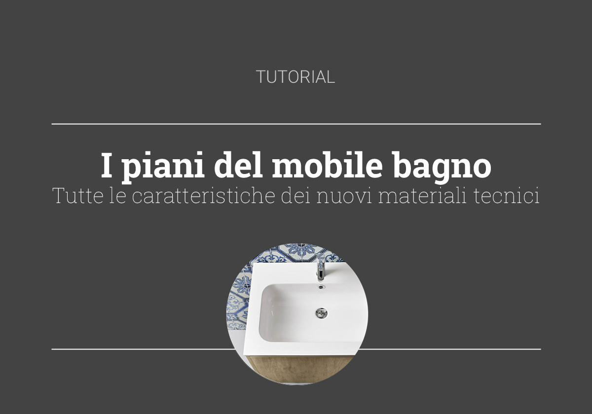tutorial piano mobile bagno