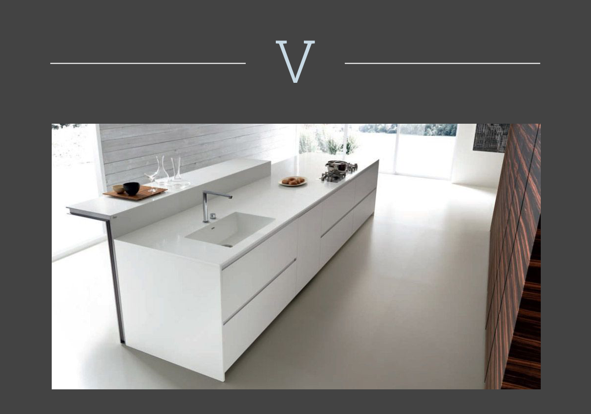 kitchen countertop in corian