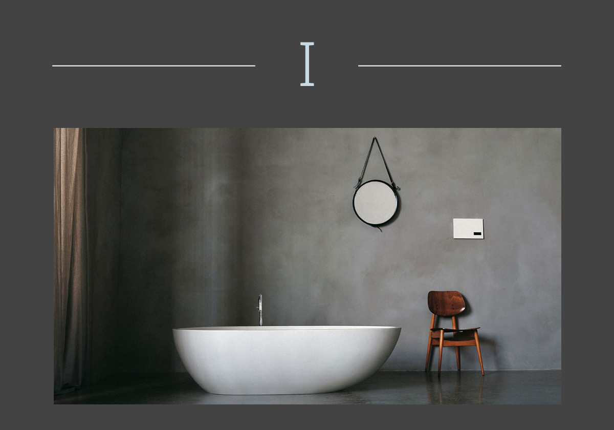 Spoon bathtub by Agape