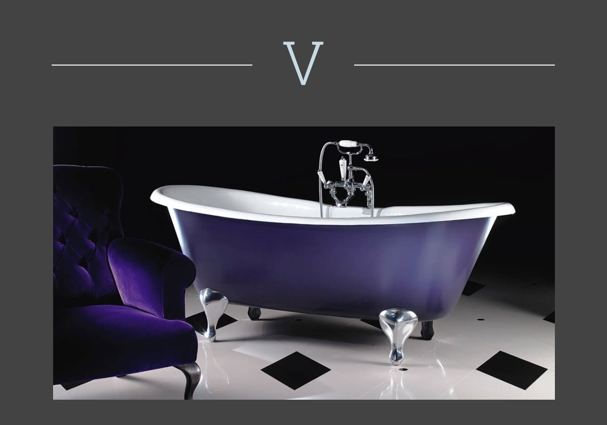 Admiral bathtub by Devon&Devon