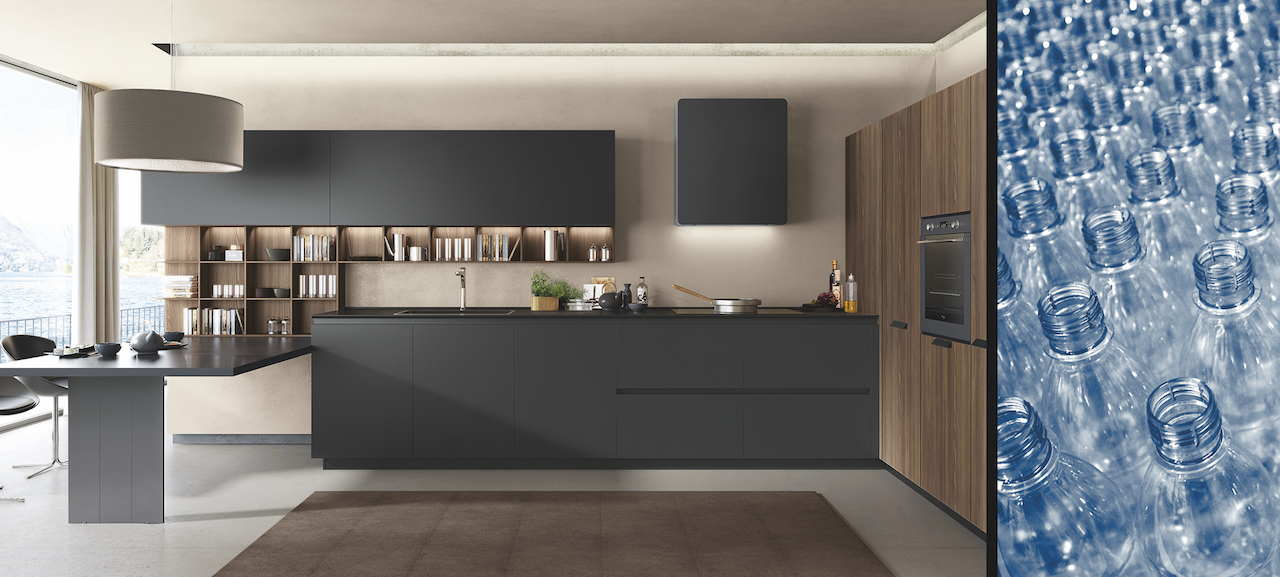 Kitchen FiloLain, design R&S Euromobil & Roberto Gobbo, Euromobil Kitchen Atmosphere.