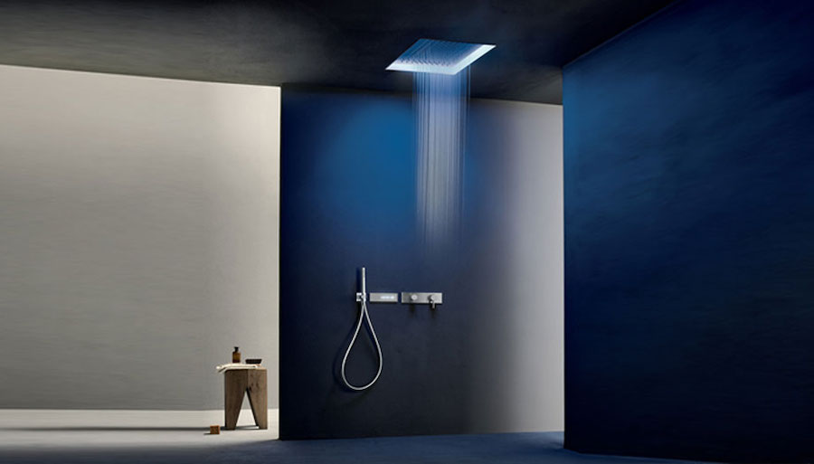 Acquafit by Fantini, the multisensory shower head