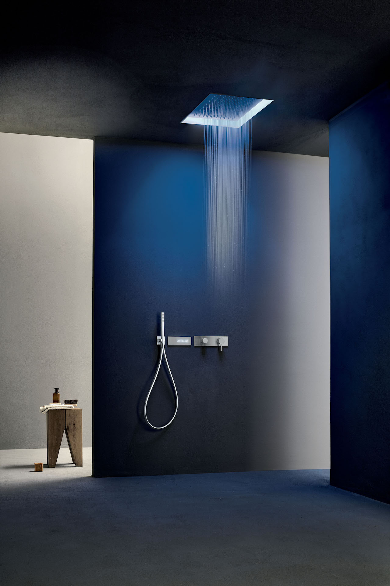 Acquafit Dream recessed shower head 50x35 cm, Fantini.