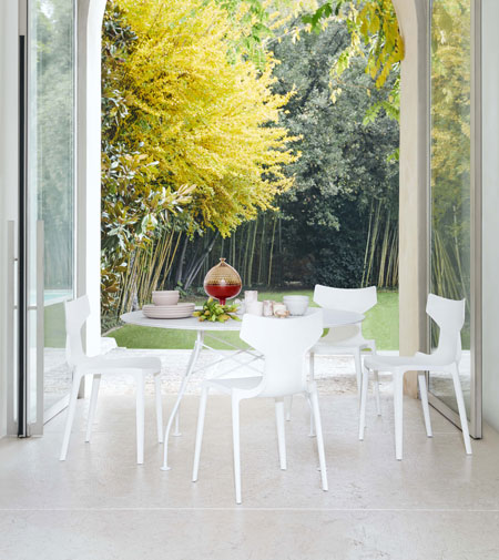 Re-Chair by Kartell, the recycled chair