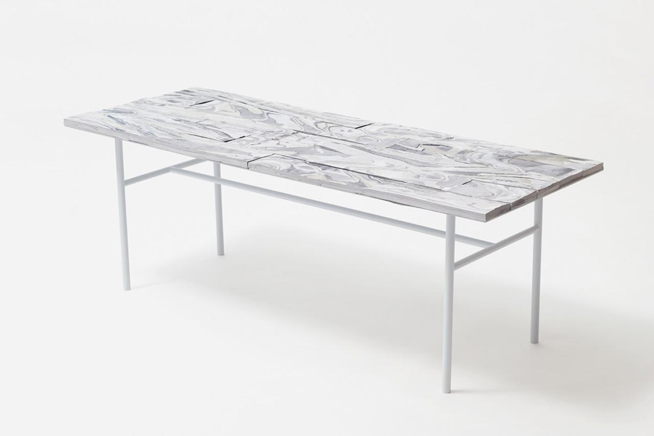 Alcantara wood by Nendo