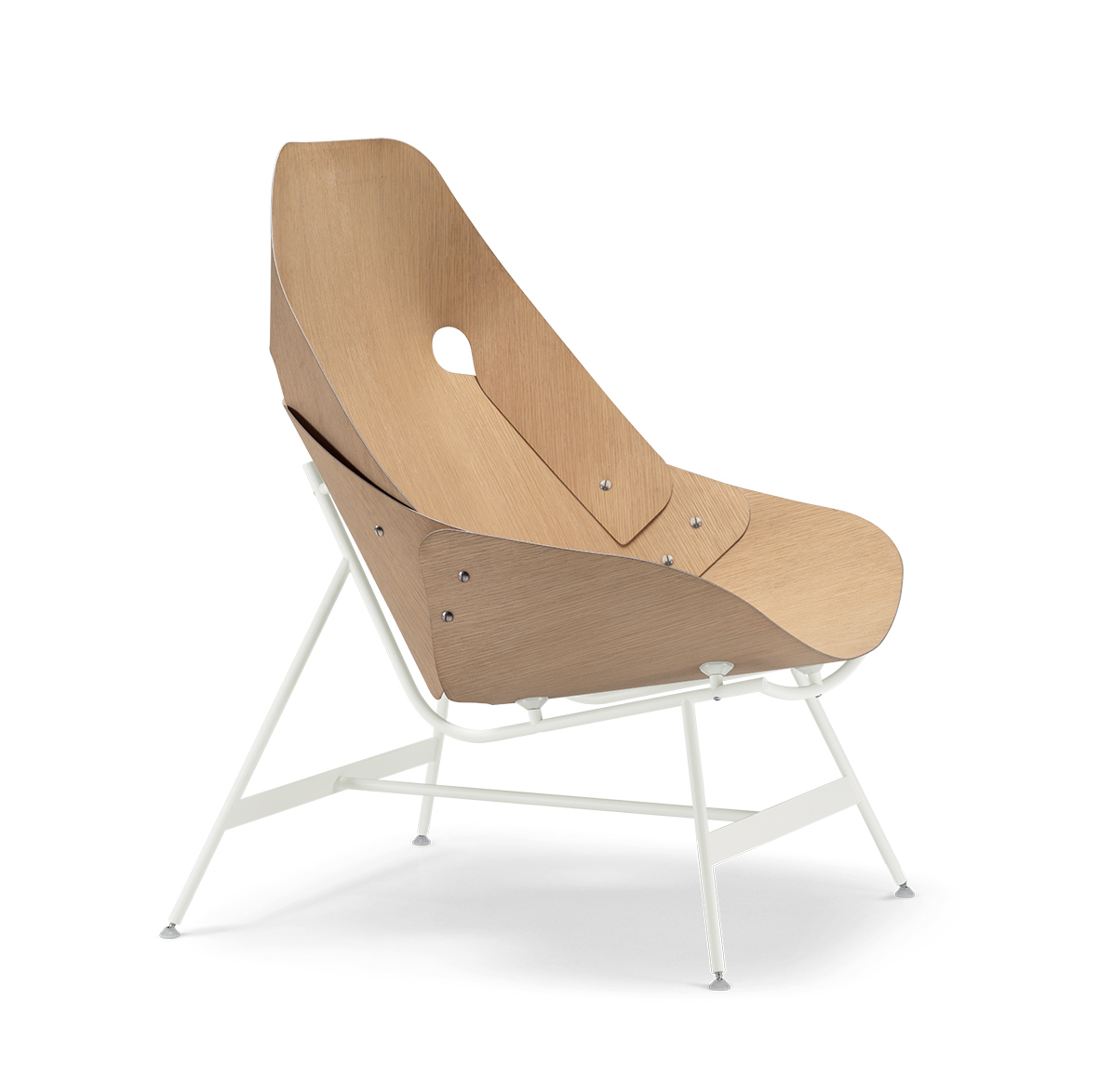 Time armchair, design Alfredo Häberli 2019, Alias.