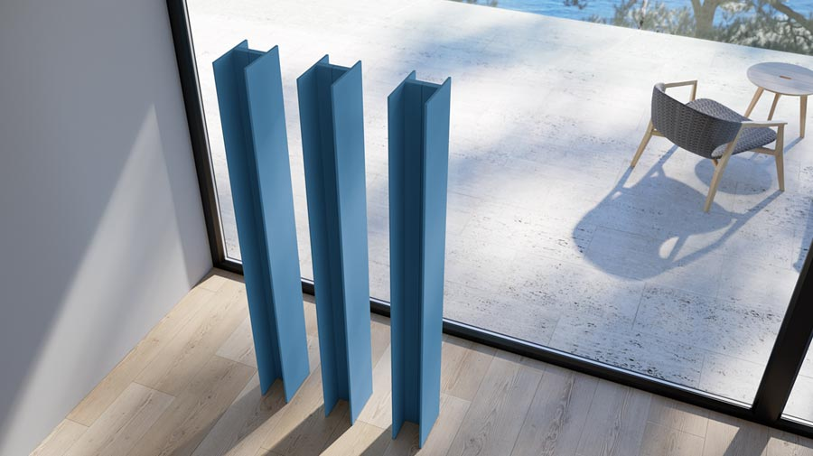 T Tower by Antrax, the new urban style radiator
