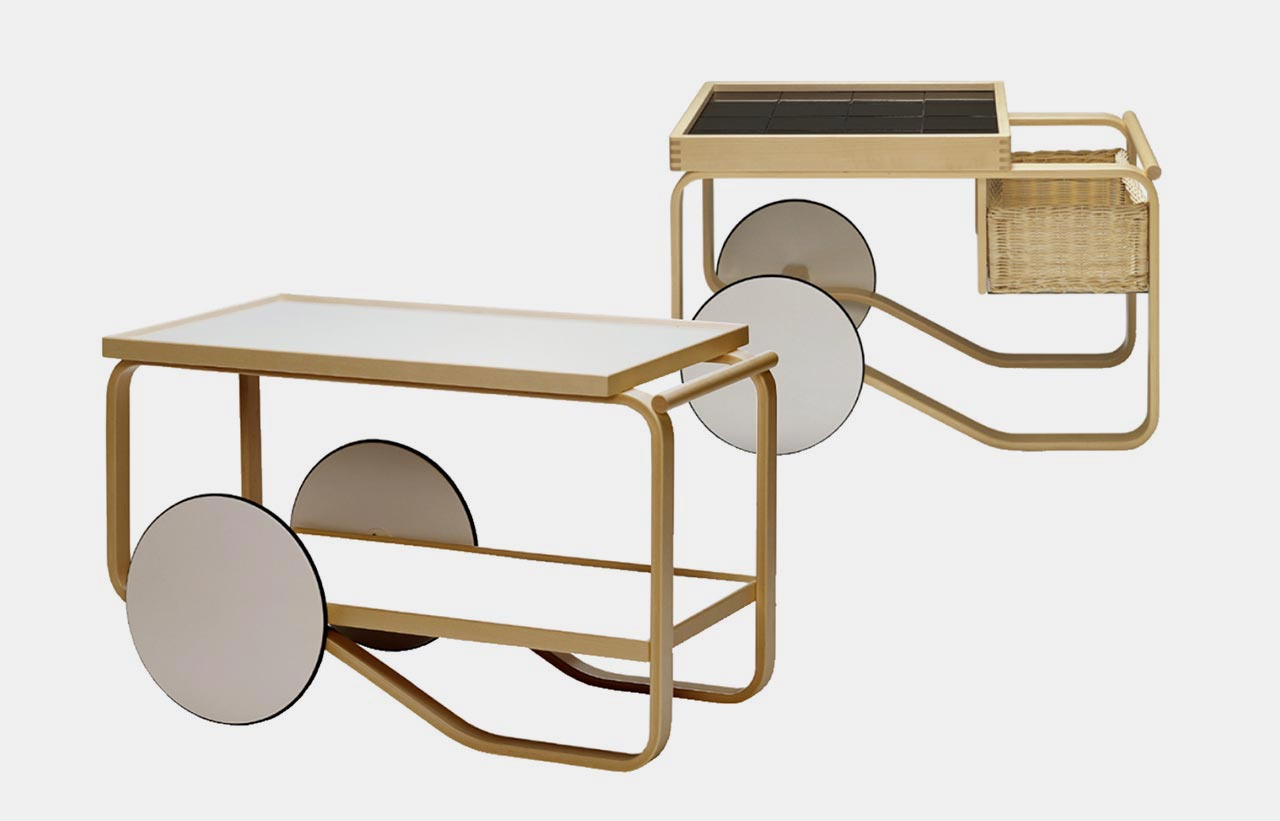 Artek, 900 and 901 drinks trolley