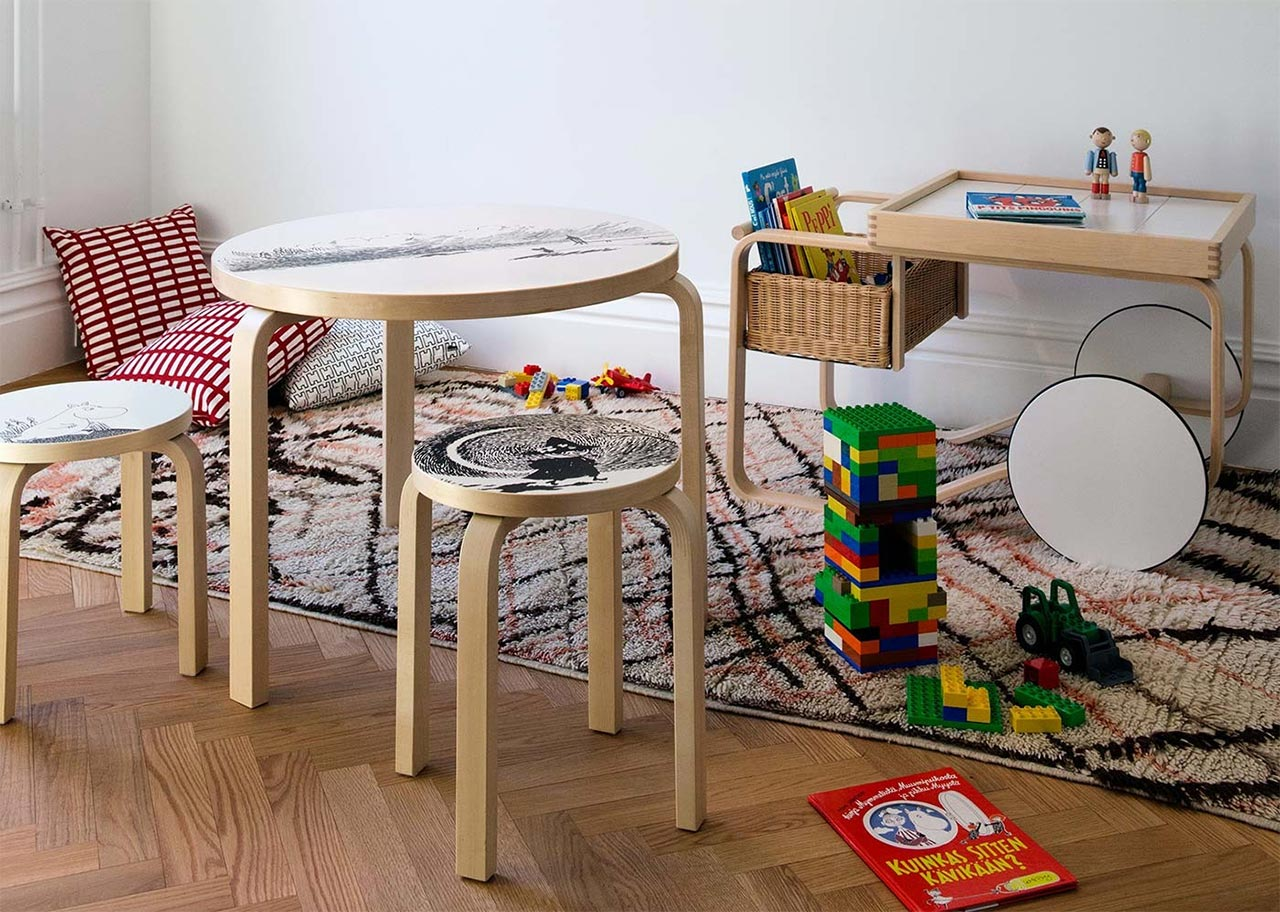 Artek, 900 perfect furniture for the children room