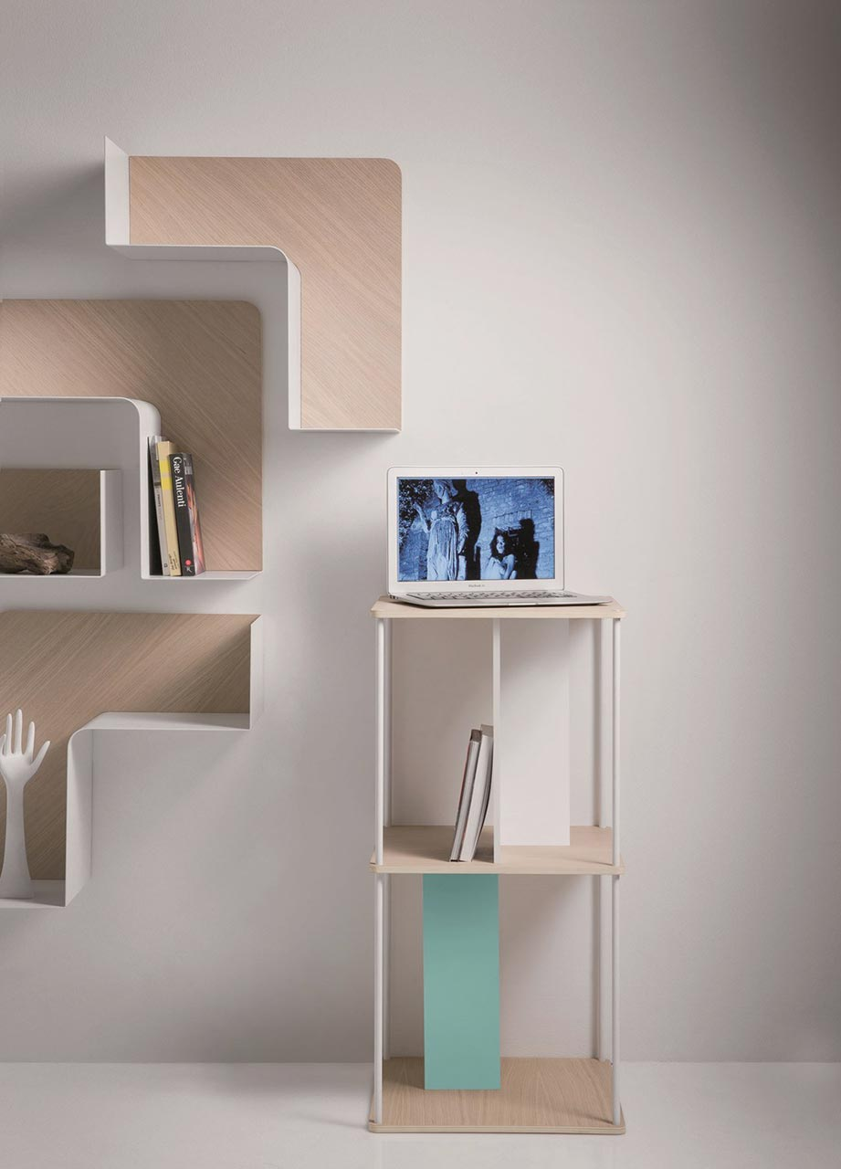 Multi-purpose storage Domino by B-Line