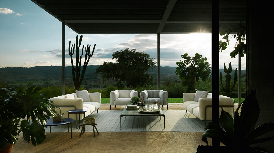 Borea by B&B Italia, the innovation of outdoor comfort